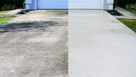 Driveway power pressure washing in langley surrey for Clean driveway without pressure washer